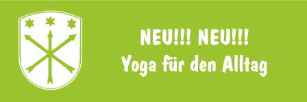 NEU! Yoga für den Alltag